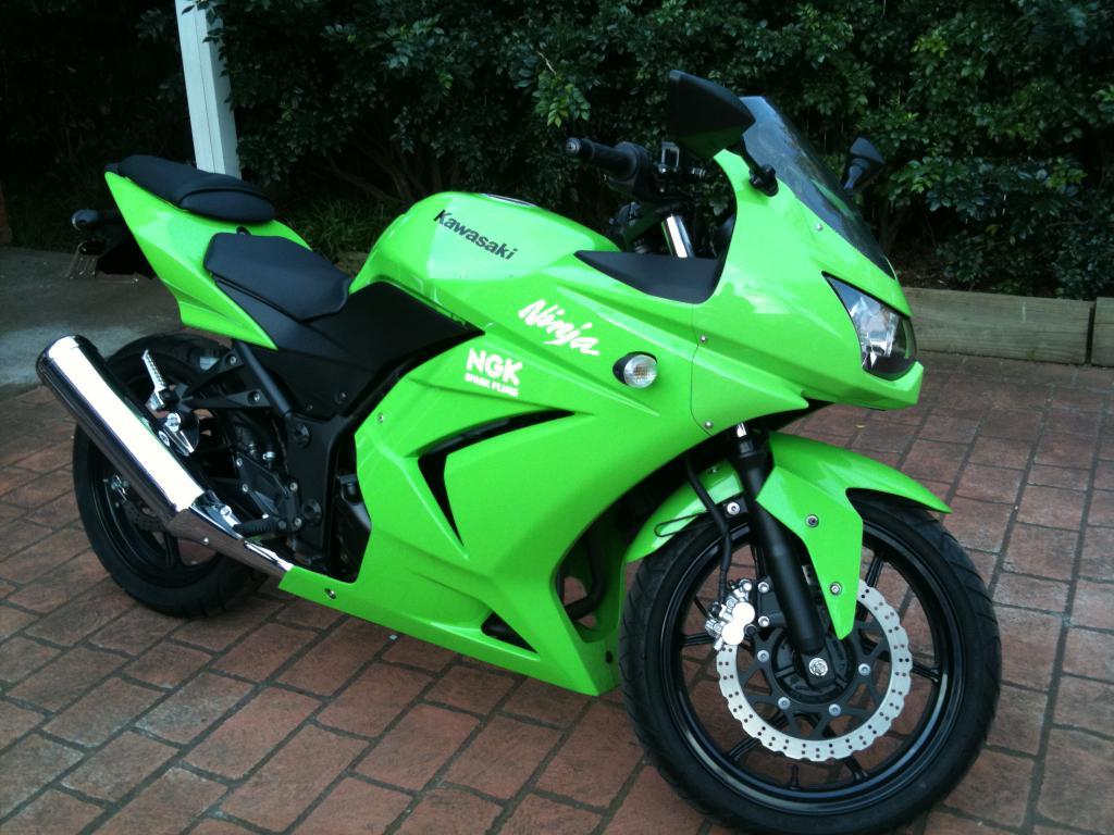 Kawasaki Ninja 250r Tuning Photos
